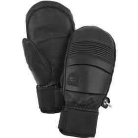 Hestra Leather Fall Line Muffole, nero
